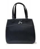 KITAMURA(キタムラ)の古着「ハンドバッグ」|ネイビー