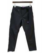 THE NORTHFACE PURPLELABEL(ザノースフェイスパープルレーベル)の古着「Polyester Serge Field Pants」|グレー