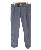 1piu1uguale3(ウノピュウノウグァーレトレ)の古着「トラベルパンツ」|ブルー