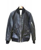 1piu1uguale3(ウノピュウノウグァーレトレ)の古着「リバーシブルMA-1」|ブラック