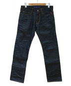 DENIM BY VANQUISH&FRAGMENT(デニムバイ バンキッシュアンドフラグメント)の古着「デニムパンツ」 インディゴ