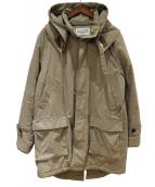 McGREGOR(マクレガー)の古着「中綿ミリタリーコート」|ベージュ