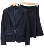 RALPH LAUREN(ラルフローレン)の古着「スカートスーツ」|ネイビー