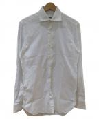 Errico Formicola(エリコフォルミコラ)の古着「カッタウェイシャツ」|ホワイト