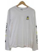 KENZO(ケンゾー)の古着「アームプリントTシャツ」 ホワイト