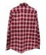 Supreme (シュプリーム) チェックシャツ レッド サイズ:M:5800円
