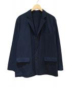 Graphpaper(グラフペーパー)の古着「スタンダードボックスジャケット」|ネイビー