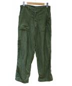 US ARMY(米軍)の古着「ヴィンテージユーティリティパンツ」|カーキ