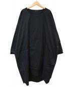 mizuiro-ind(ミズイロインド)の古着「ブラウスワンピース」|ブラック