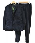 narifuri(ナリフリ)の古着「シアサッカートラベルセットアップスーツ」|ネイビー