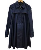 MAX&Co.(マックスアンドコー)の古着「Aラインコート」|ネイビー