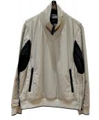 BURBERRY GOLF(バーバリーゴルフ)の古着「中綿プルオーバー」|ベージュ