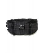 comfy outdoor garment(コンフィーアウトドアガーメント)の古着「SPECTRA RIP WAIST BAG」|ブラック