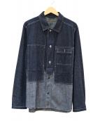 NIGEL CABOURN(ナイジェルケーボン)の古着「UTILITY SHIRT C/L DENIM」|インディゴ