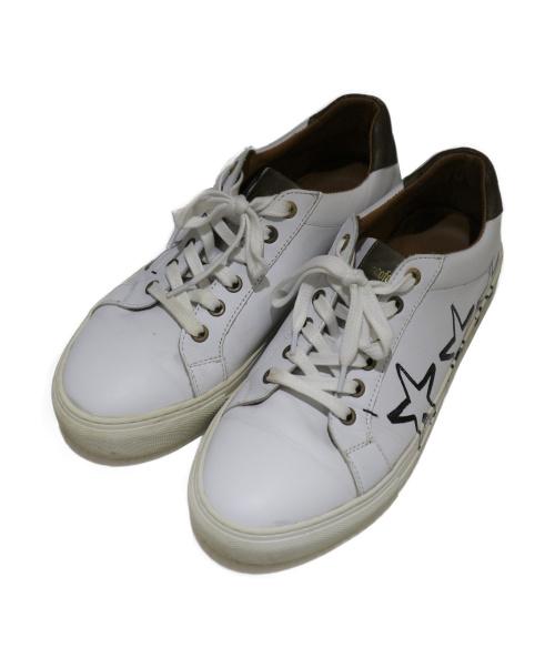 Pantofola dOro(パントフォラドーロ)Pantofola dOro (パントフォラドーロ) サイドペイントレザースニーカー ホワイト サイズ:41 90-2cwの古着・服飾アイテム