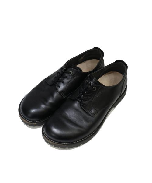 BIRKENSTOCK(ビルケンシュトック)BIRKENSTOCK (ビルケンシュトック) GILFORDオックスフォードシューズ ブラック サイズ:28cmの古着・服飾アイテム