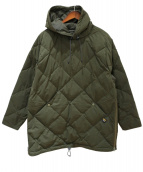 COMFY OUTDOOR GARMENT(コンフィーアウトドアガーメント)の古着「PULLOVER STRETCH DOWN HOODIE」|オリーブ