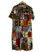 Engineered Garments(エンジニアードガーメンツ)の古着「アフリカンバティックコンビスーツ」|マルチカラー