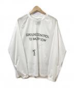 Comfy Outdoor Garment(コンフィーアウトドアガーメンツ)の古着「DB DRY L/S」|ホワイト