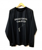 Comfy Outdoor Garment(コンフィーアウトドアガーメンツ)の古着「DB DRY L/S」|ブラック