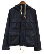 F/CE(エフシーイー)の古着「SUPPLEX SHORT MOUNTAIN JK」|ネイビー