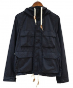 F/CE(エフシーイー)の古着「SUPPLEX SHORT MOUNTAIN JK」 ネイビー