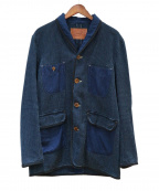 The DUFFER of ST.GEORGE()の古着「COVERALL」|インディゴ