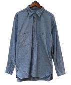 BIG YANK(ビッグヤンク)の古着「シャンブレーシャツ」 スカイブルー