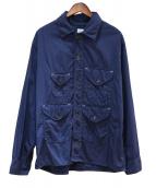 POST OALLS(ポストオーバーオールズ)の古着「クルーザージャケット」|ネイビー