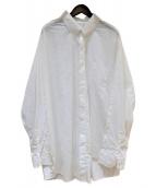 Maison Margiela(メゾンマルジェラ)の古着「オーバーサイズ シャツ」|ホワイト