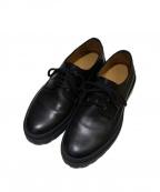 A.P.C(アーペーセー)の古着「オックスフォード ダービーシューズ」|ブラック