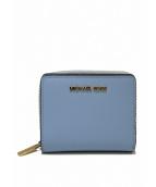 MICHAEL KORS(マイケルコース)の古着「2つ折り財布」 ブルー