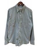 BIG YANK(ビッグヤンク)の古着「刺し子シャツ」|グリーン