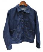 45R(フォーティファイブアール)の古着「藍デニムのGジャン」|インディゴ