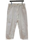 bukht(ブフト)の古着「ワイドパンツ」 ホワイト