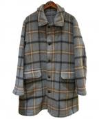 ts(s)(ティーエスエス)の古着「Reversible Easy Coat」 グレー