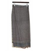 OLD PARK(オールドパーク)の古着「総柄スカート」|マルチカラー