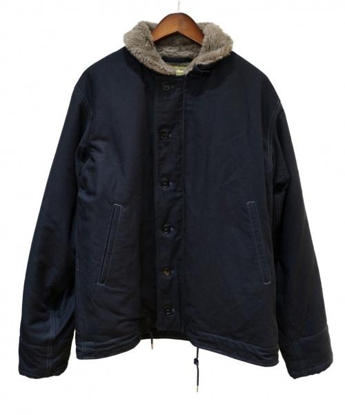 Buzz Ricksons(バズリクソンズ)Buzz Ricksons (バズリクソンズ) N-1デッキジャケット ネイビー サイズ:42(XL)の古着・服飾アイテム