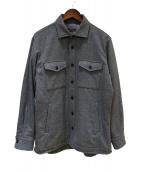 MACKINTOSH LONDON(マッキントッシュ ロンドン)の古着「シャツジャケット」 グレー