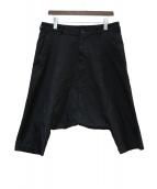 BLACK COMME des GARCONS(ブラックコムデギャルソン)の古着「サルエルパンツ」 ブラック