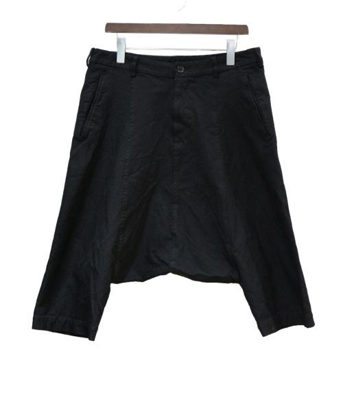 BLACK COMME des GARCONS(ブラックコムデギャルソン)BLACK COMME des GARCONS (ブラックコムデギャルソン) サルエルパンツ ブラック サイズ:Mの古着・服飾アイテム