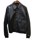 3.1 phillip lim(3.1 フィリップリム)の古着「シープレザージャケット」 ブラック