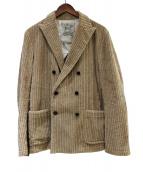 Brilla per il gusto(ブリッラ ペル イル グスト)の古着「コーデュロイジャケット」|ベージュ