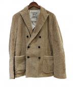 Brilla per il gusto(ブリッラ ペル イルグースト)の古着「コーデュロイジャケット」 ベージュ