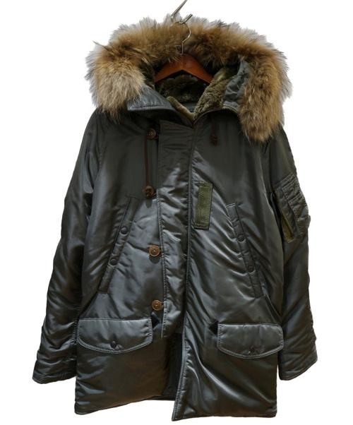AVIREX(アヴィレックス)AVIREX (アヴィレックス) N-3Bタイプコート グリーン サイズ:Lの古着・服飾アイテム