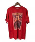GOLDEN GOOSE(ゴールデングース)の古着「プリントTシャツ」|レッド