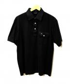 Christian Dior MONSIEUR(クリスチャンディオールムッシュ)の古着「ポロシャツ」|ブラック