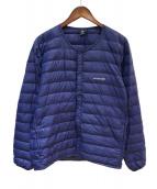 mont-bell(モンベル)の古着「インナーダウンジャケット」|ブルー