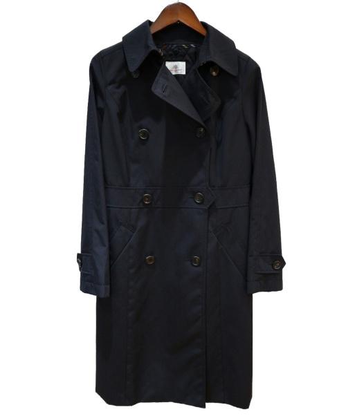 OLD ENGLAND(オールドイングランド)OLD ENGLAND (オールドイングランド) ライナー付トレンチコート ネイビー サイズ:36(S)の古着・服飾アイテム