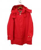 MACKINTOSH PHILOSOPHY()の古着「ステンカラーコート」|レッド